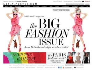 Net-A-Porter Homepage