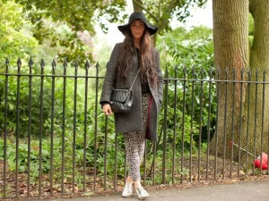 Aideen doyle street style lfw