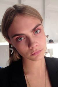burberry lfw make up