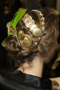 dolce and gabbana hair and make up mfw 3