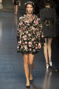 dolce and gabbana mfw 3