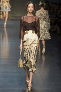 dolce and gabbana mfw 4