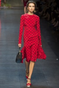 dolce and gabbana mfw 9