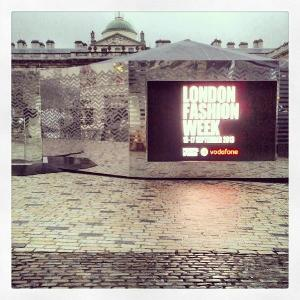 London FW courtyard