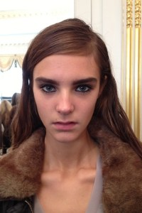 mulberry make up lfw