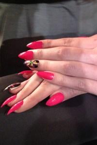 PPQ Nails lfw 2