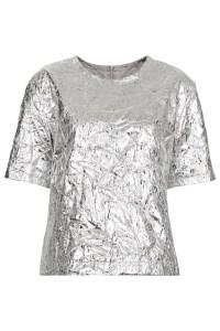 silver foil tee