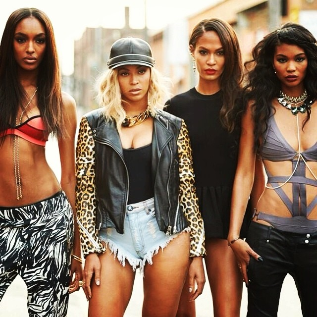 beyonce yonce jourdan dunn joan smalls chanel iman