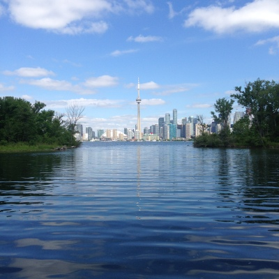Toronto Skyline from the Islands