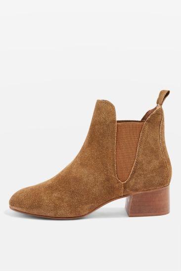 barley suede boots topshop