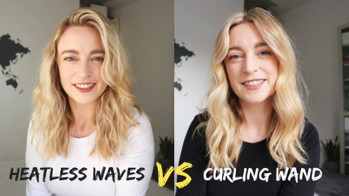 Heatless Waves vs Curling Wand
