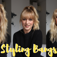 How I Style My Bangs - Tips & Tricks